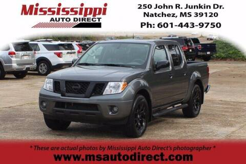 2021 Nissan Frontier for sale at Auto Group South - Mississippi Auto Direct in Natchez MS