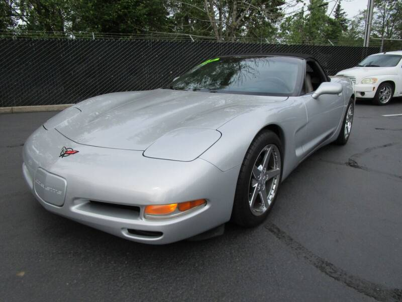 1999 Chevrolet Corvette for sale at LULAY'S CAR CONNECTION in Salem OR