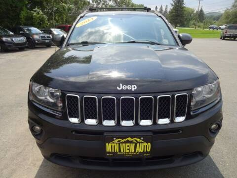 2014 Jeep Compass for sale at MOUNTAIN VIEW AUTO in Lyndonville VT