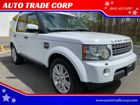 2011 Land Rover LR4 for sale at AUTO TRADE CORP in Nanuet NY