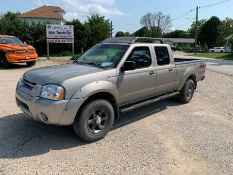 2004 Nissan Frontier for sale at GREENFIELD AUTO SALES in Greenfield IA