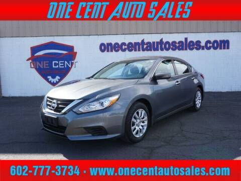 2018 Nissan Altima for sale at One Cent Auto Sales in Glendale AZ
