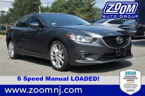 2014 Mazda MAZDA6 for sale at Zoom Auto Group in Parsippany NJ