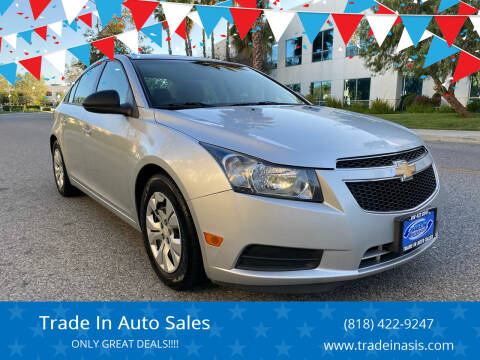 2014 Chevrolet Cruze for sale at Trade In Auto Sales in Van Nuys CA