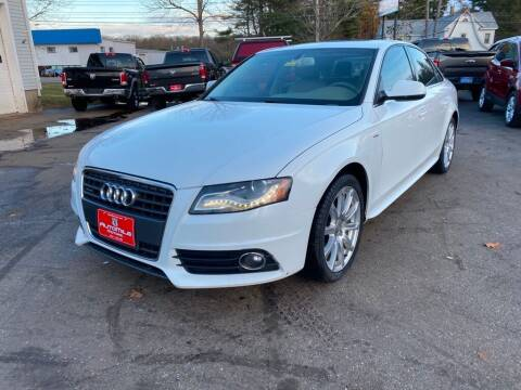 2012 Audi A4 for sale at AutoMile Motors in Saco ME