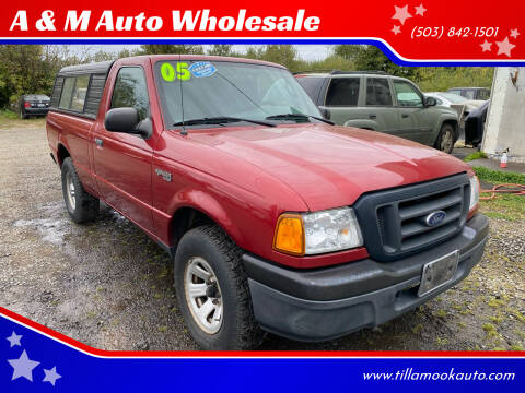 2005 Ford Ranger for sale at A & M Auto Wholesale in Tillamook OR