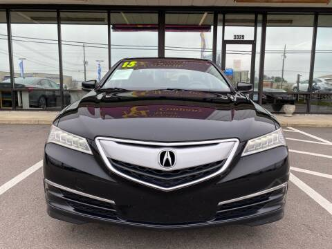 2015 Acura TLX for sale at Greenville Motor Company in Greenville NC