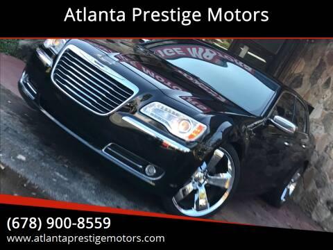 2012 Chrysler 300 for sale at Atlanta Prestige Motors in Decatur GA