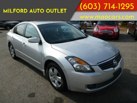 2008 Nissan Altima for sale at Milford Auto Outlet in Milford NH