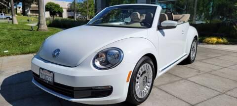 2015 Volkswagen Beetle Convertible for sale at Top Motors in San Jose CA