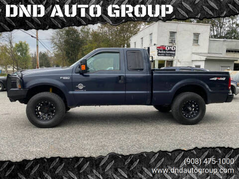 1999 Ford F-250 Super Duty for sale at DND AUTO GROUP in Belvidere NJ