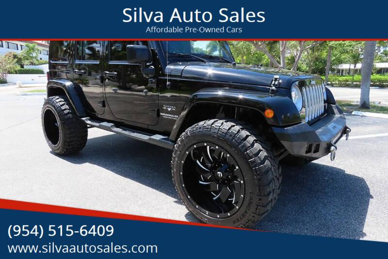 2016 Jeep Wrangler Unlimited for sale at Silva Auto Sales in Pompano Beach FL