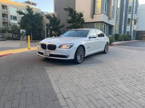 2012 BMW 7 Series for sale at Ronnie Motors LLC in San Jose CA