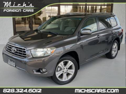 2008 Toyota Highlander for sale at Mich's Foreign Cars in Hickory NC