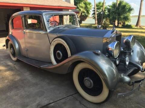 1937 Rolls-Royce 25/30 Park Ward for sale at Classic Car Deals in Cadillac MI