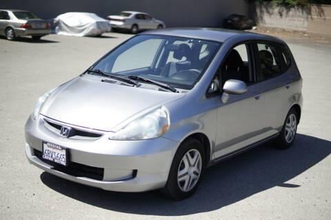 2007 Honda Fit for sale at Sports Plus Motor Group LLC in Sunnyvale CA