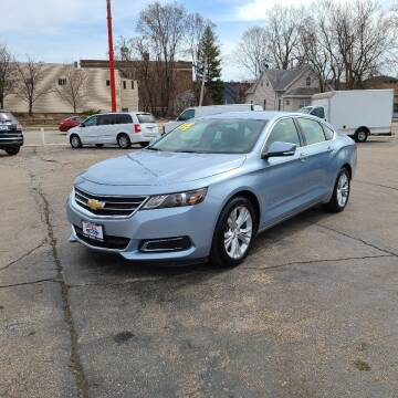 2014 Chevrolet Impala for sale at Bibian Brothers Auto Sales & Service in Joliet IL