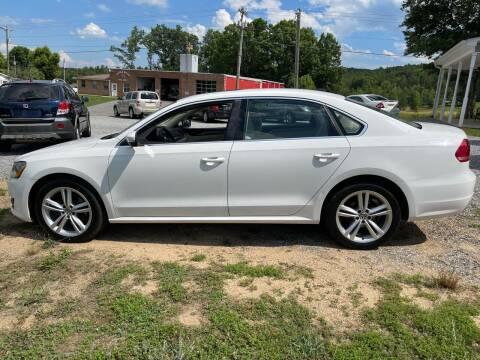 2014 Volkswagen Passat for sale at Judy's Cars in Lenoir NC