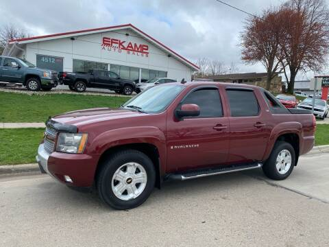 2009 Chevrolet Avalanche for sale at Efkamp Auto Sales LLC in Des Moines IA