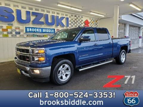 2015 Chevrolet Silverado 1500 for sale at BROOKS BIDDLE AUTOMOTIVE in Bothell WA