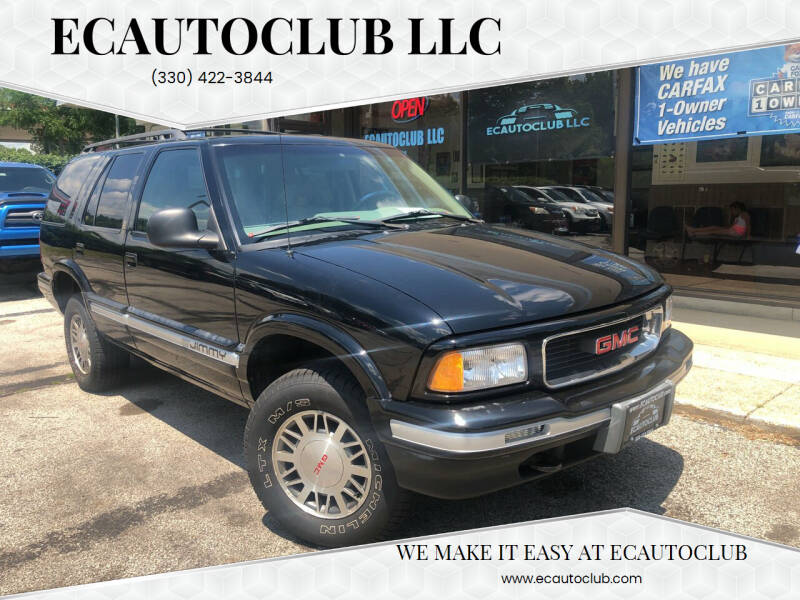 1995 GMC Jimmy for sale at ECAUTOCLUB LLC in Kent OH