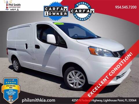 2018 Nissan NV200 for sale at PHIL SMITH AUTOMOTIVE GROUP - Phil Smith Kia in Lighthouse Point FL