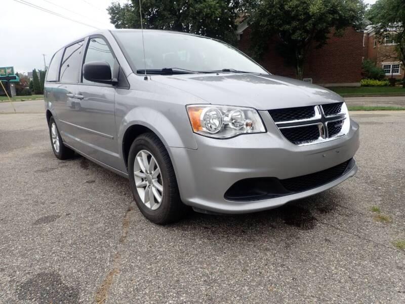 2013 Dodge Grand Caravan for sale at Marvel Automotive Inc. in Big Rapids MI