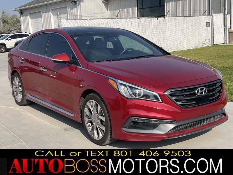 2017 Hyundai Sonata for sale at Auto Boss in Woods Cross UT
