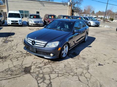 2010 Mercedes-Benz C-Class for sale at MOE MOTORS LLC in South Milwaukee WI