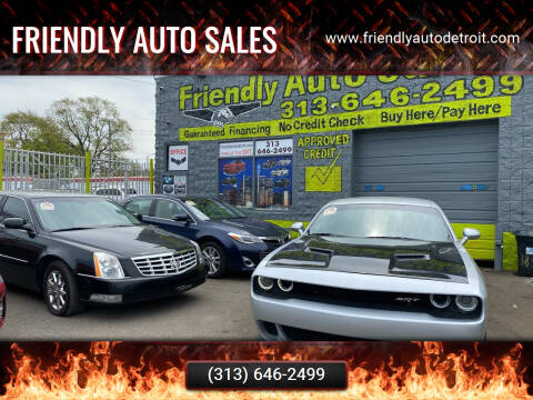 2020 Dodge Challenger for sale at Friendly Auto Sales in Detroit MI