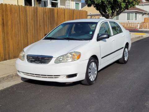2007 Toyota Corolla for sale at Gateway Motors in Hayward CA