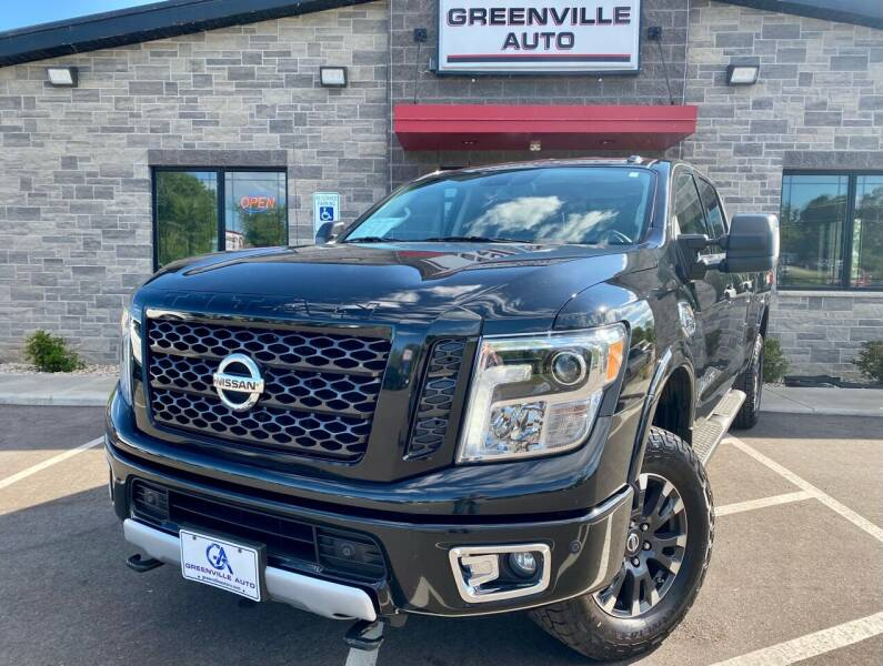 2016 Nissan Titan XD for sale at GREENVILLE AUTO in Greenville WI