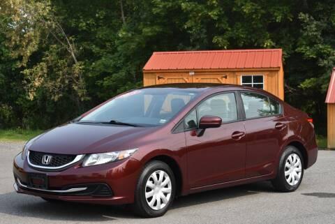 2015 Honda Civic for sale at GREENPORT AUTO in Hudson NY