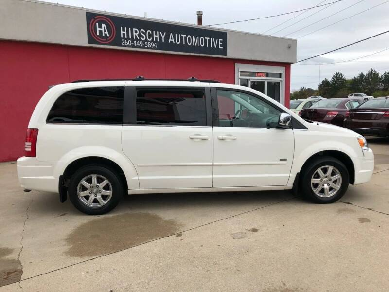 2008 Chrysler Town and Country for sale at Hirschy Automotive in Fort Wayne IN