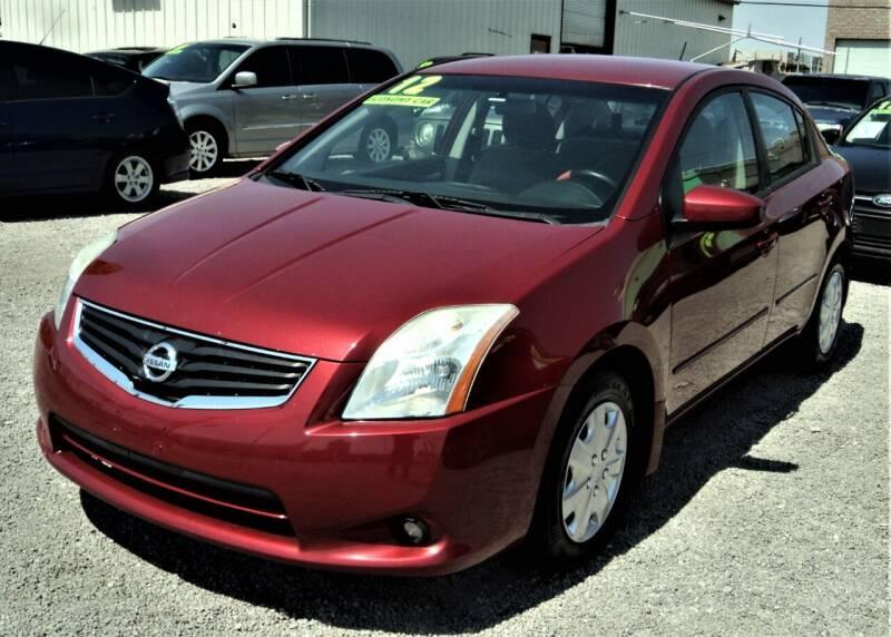2012 Nissan Sentra for sale at DESERT AUTO TRADER in Las Vegas NV