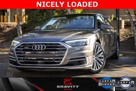 2019 Audi A8 L for sale at Gravity Autos Atlanta in Atlanta GA