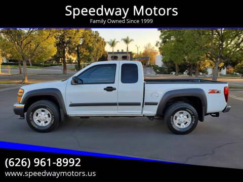 2007 Chevrolet Colorado for sale at Speedway Motors in Glendora CA