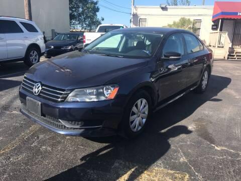 2013 Volkswagen Passat for sale at Saipan Auto Sales in Houston TX