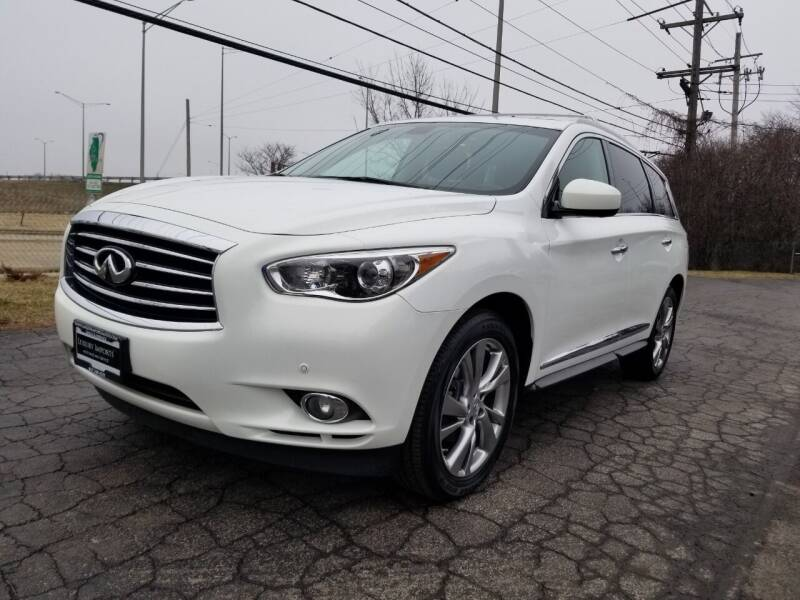 2013 Infiniti JX35 for sale at Luxury Imports Auto Sales and Service in Rolling Meadows IL