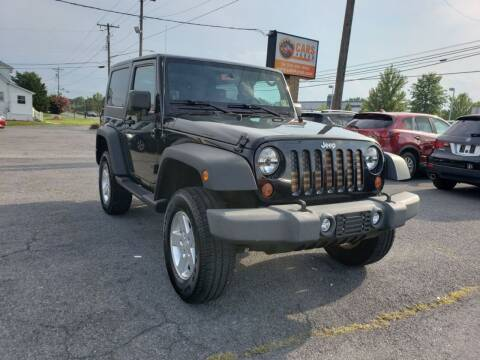 2009 Jeep Wrangler for sale at Cars 4 Grab in Winchester VA