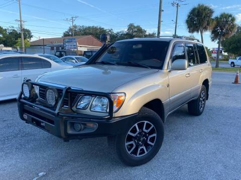 2000 Lexus LX 470 for sale at CHECK AUTO, INC. in Tampa FL