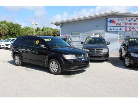2017 Dodge Journey for sale at My Value Car Sales in Venice FL