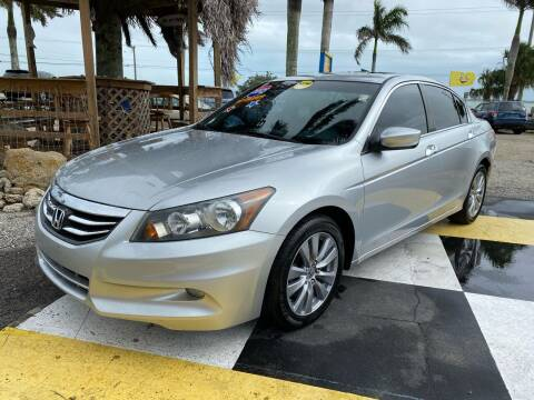 2012 Honda Accord for sale at D&S Auto Sales, Inc in Melbourne FL