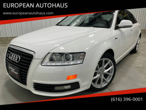 2010 Audi A6 for sale at EUROPEAN AUTOHAUS in Holland MI