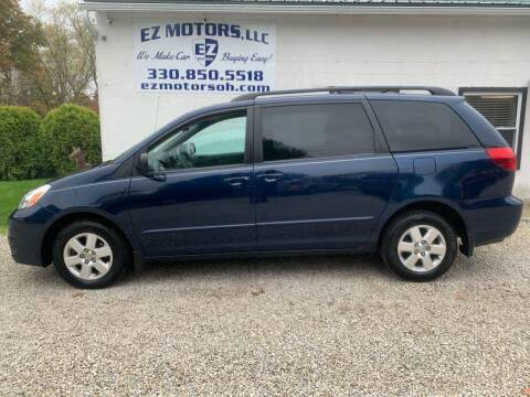 2004 Toyota Sienna for sale at EZ Motors in Deerfield OH