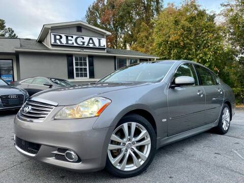 2008 Infiniti M35 for sale at Regal Auto Sales in Marietta GA