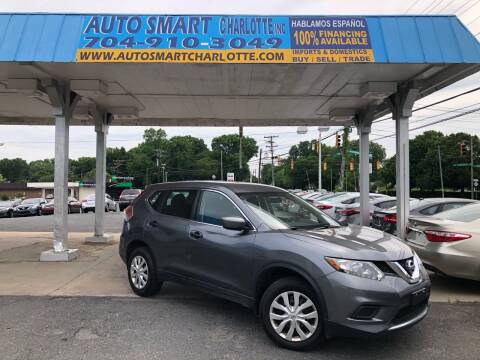 2016 Nissan Rogue for sale at Auto Smart Charlotte in Charlotte NC