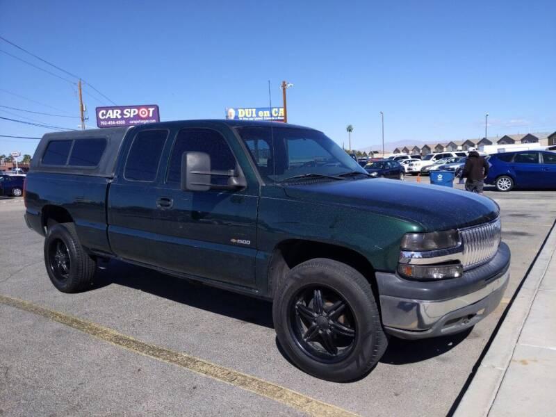 2002 Chevrolet Silverado 1500 for sale at Car Spot in Las Vegas NV
