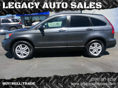 2011 Honda CR-V for sale at LEGACY AUTO SALES in Boise ID
