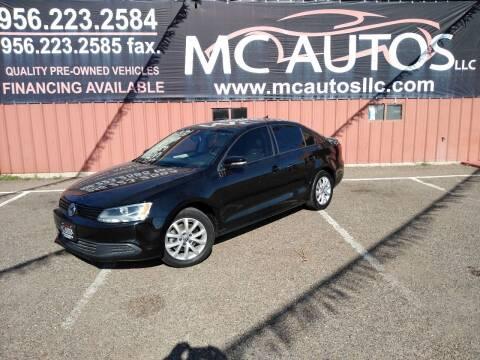 2011 Volkswagen Jetta for sale at MC Autos LLC in Pharr TX